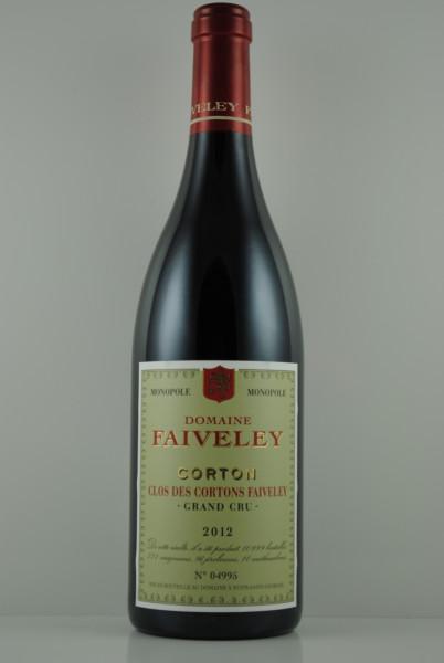 2012 Corton Grand Cru Clos de Corton-Monopole-, Faiveley